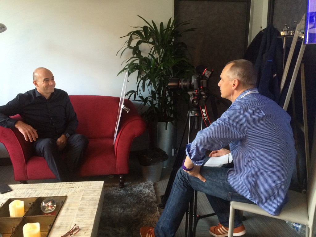 LeWeb Founder, Loic Le Meur chats with us about the conference for a .CO-er video case study