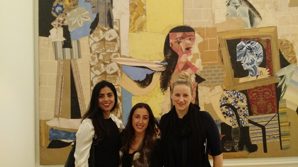 The .CO girls at the special LeWeb private event at the Picasso Museum