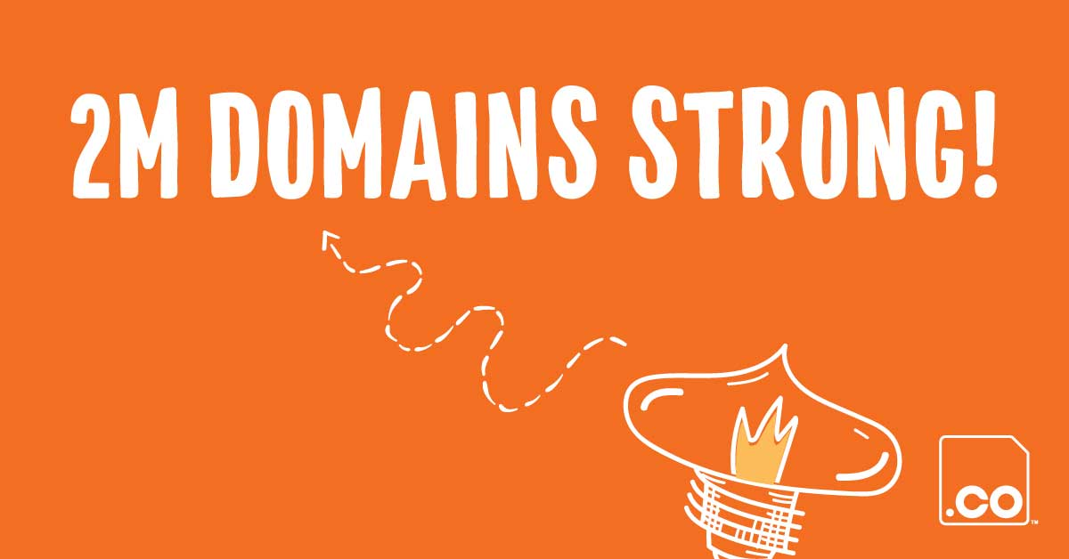 By the Numbers: 2 Million .CO Domains Under Management