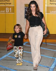 kardashians wearing duke of london cheetah pants