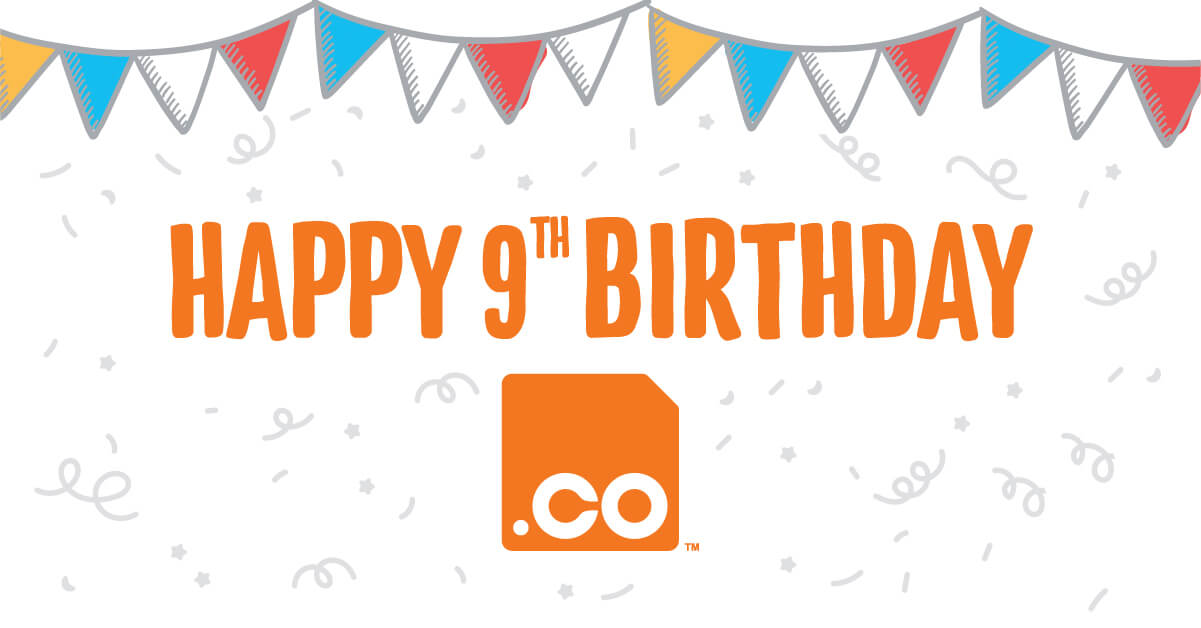.CO Milestones – 9 years in the making