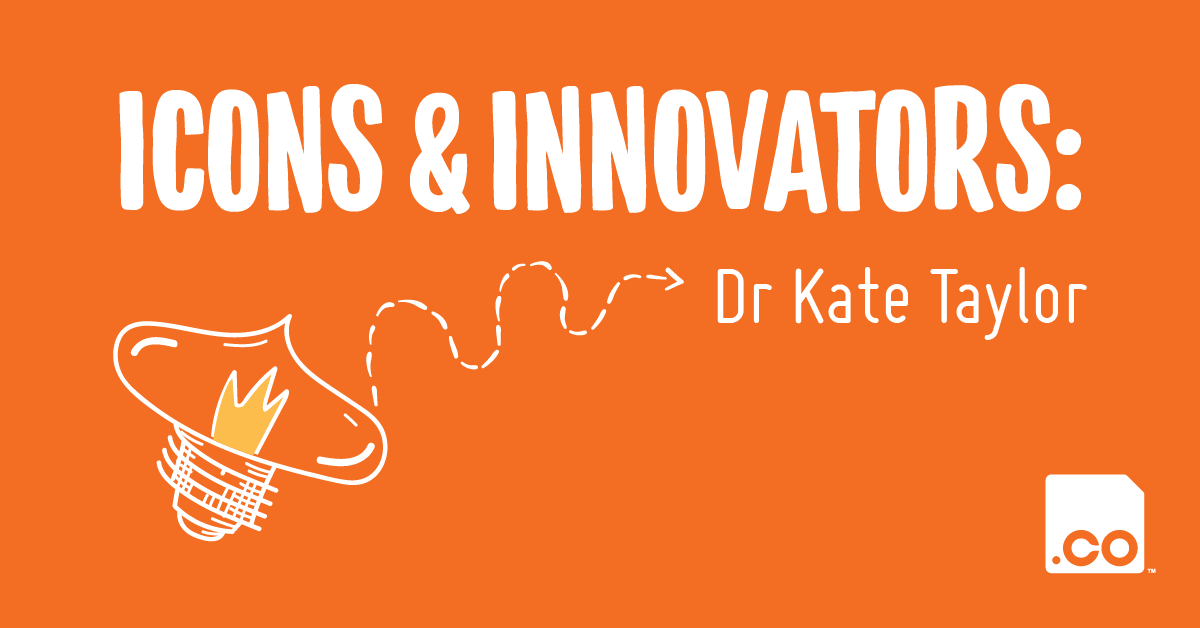 OCULO.CO | Icons & Innovators: Dr Kate Taylor
